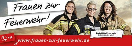 Frauen zur Feuerwehr 2
